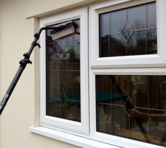 cleaning windows in St Austell Cornwall